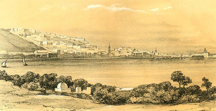 Description De L Algerie Vers 1835 Illustree Des Gravures D A Genets