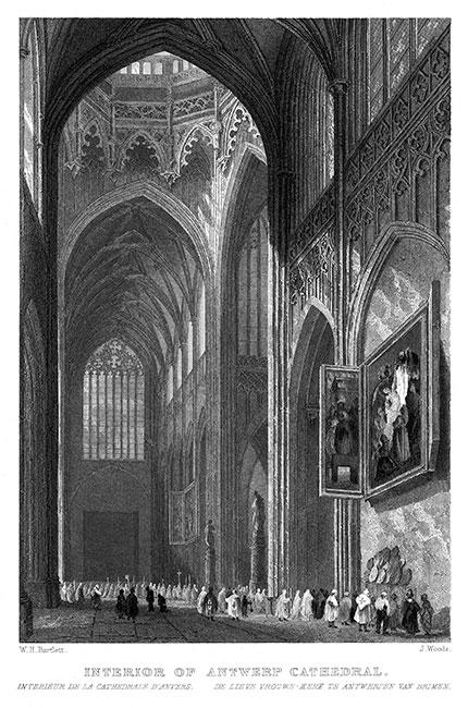 Anvers travers l 39 histoire du 16 me au 19 me si cle for Interieur d un couvent
